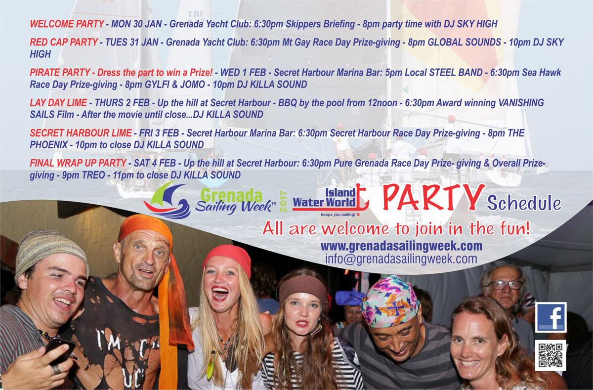 Grenada Sailing Week - Party